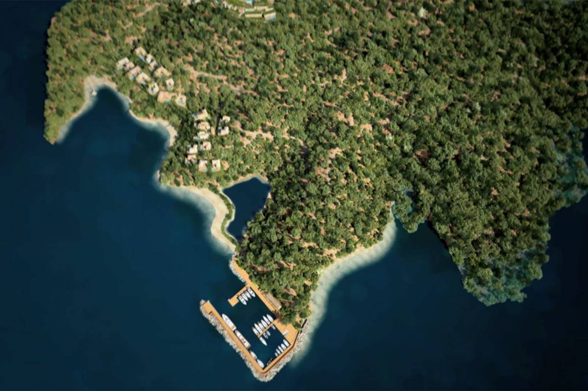 Tourist Development in Kassiopi, Corfu