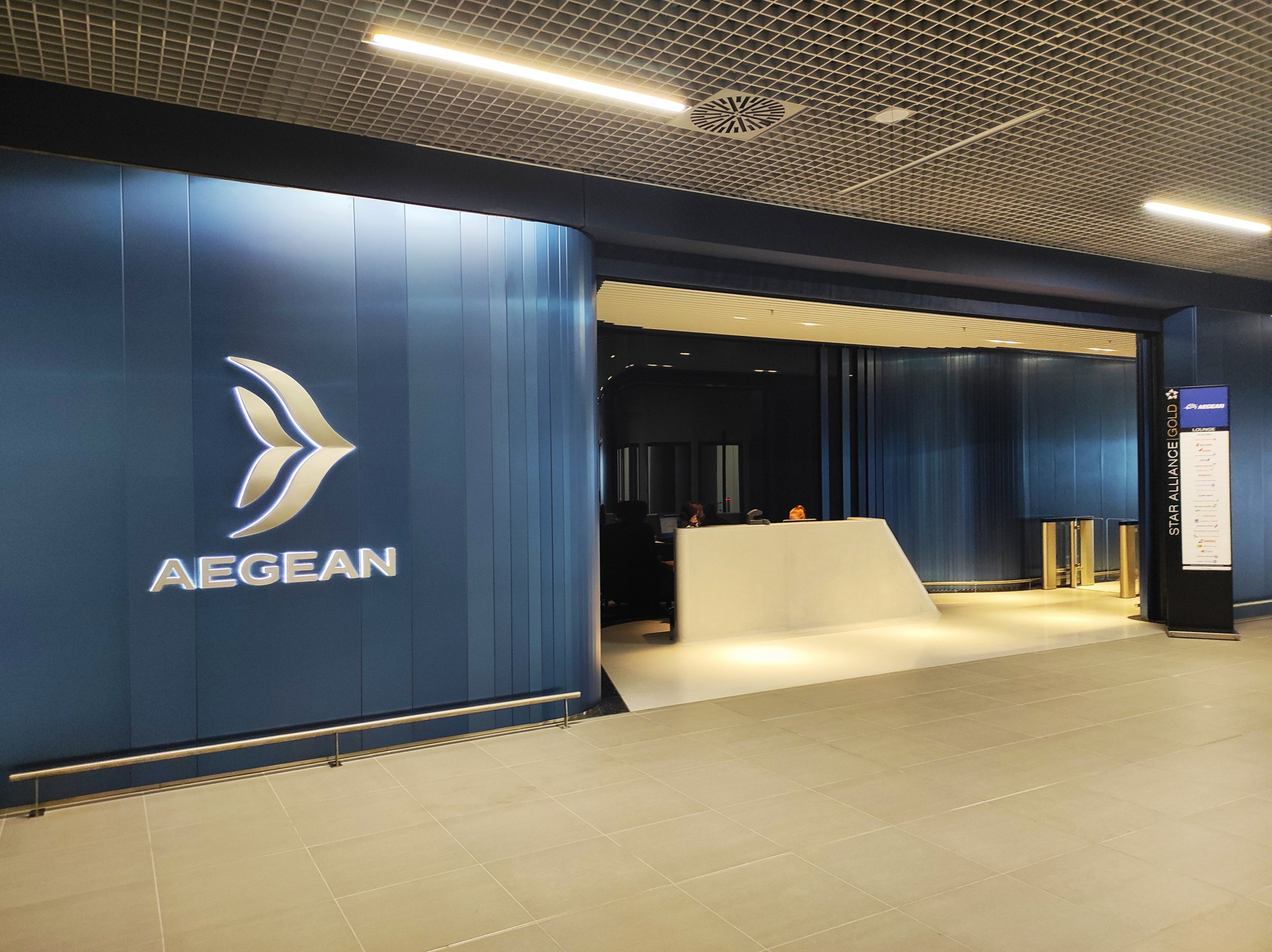 Aegean Airlines New CIP Lounges, Athens & Thessaloniki